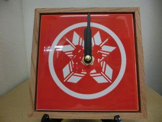 1枚タイル時計 昇華プリント