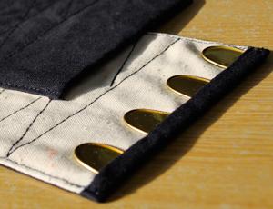 手甲子供用 4枚コハゼ